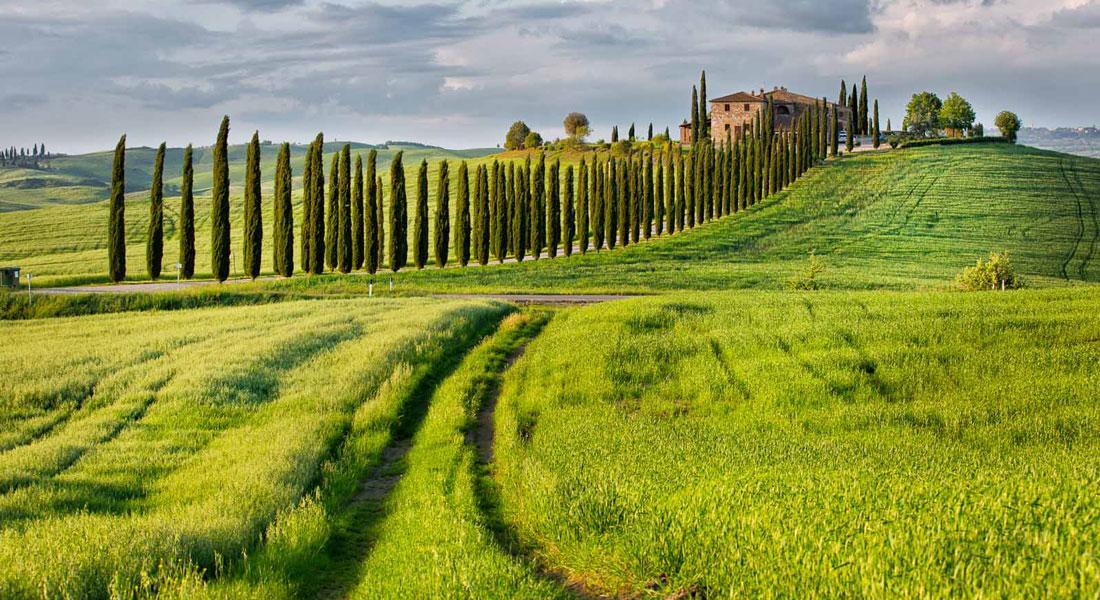 ITALIA: Toscana in bici – Val d'Orcia e Chianti