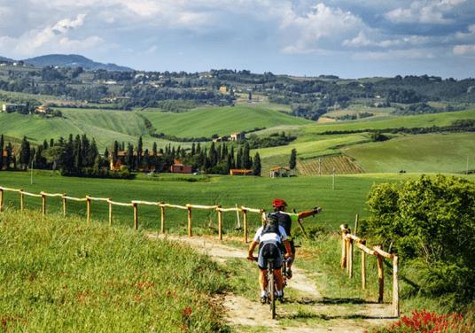 ITALIA: La Toscana in Bici – la regione, le bici